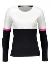 Damen-Pullover, schwarz-weiß von Aniston