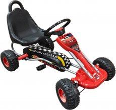 Disney Go-Kart Cars rot / schwarz 89 x 78 x 52 cm.