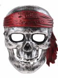 LG-Imports face mask pirate skull junior silver