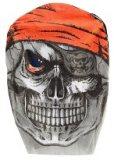 Toi-Toys skull mask white / black 25 cm