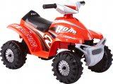 Rollplay Batteriefahrzeug ATV mini Quad 6V rot
